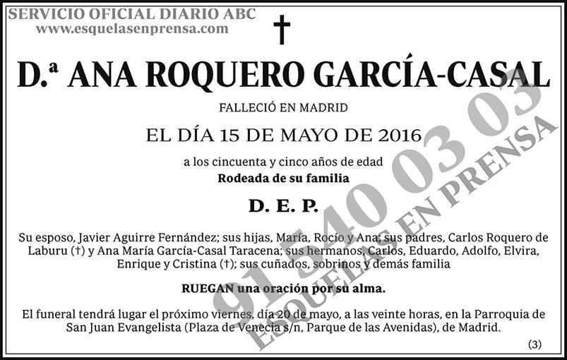 Ana Roquero García-Casal